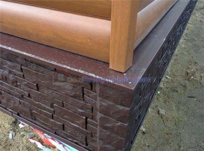 Цокольные отливы из бетона купить раствор для протравки цементной штукатурки нейтрализующим раствором